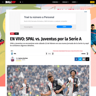 ArchiveBay.com - bolavip.com/europa/EN-VIVO-SPAL-vs.-Juventus-por-la-Serie-A-F22-20200221-0194.html - EN VIVO- SPAL vs. Juventus por la Serie A - Bolavip