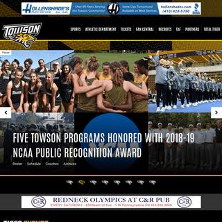 Towson University Athletics - Official Athletics Website