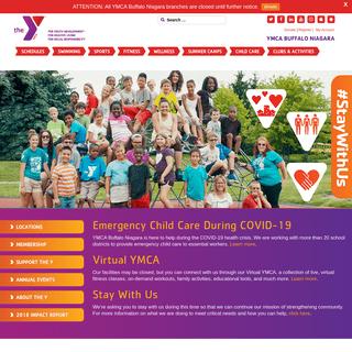 YMCA Buffalo Niagara - Buffalo, NY - For youth development. For healthy living. For social responsibility.