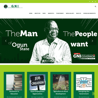 The Official Website Of Gboyega Nasir Isiaka – GNI Campaign Organisation