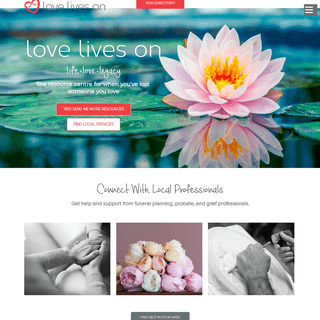 ArchiveBay.com - loveliveson.com - Love Lives On- Funerals, Funeral Planning & Inspired Ideas
