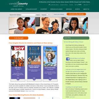 Camden County Library System - Dream Explore Imagine