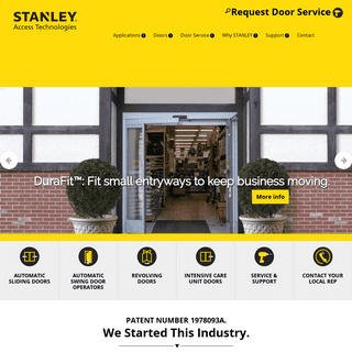 ArchiveBay.com - stanleyaccess.com - STANLEY Access - PERFORMANCE IN ACTION™