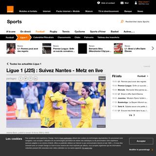 ArchiveBay.com - sports.orange.fr/football/ligue-1/live/ligue-1-j25-suivez-nantes-metz-en-live-CNT000001nIqEU.html - Ligue 1 (J25) - Suivez Nantes - Metz en live