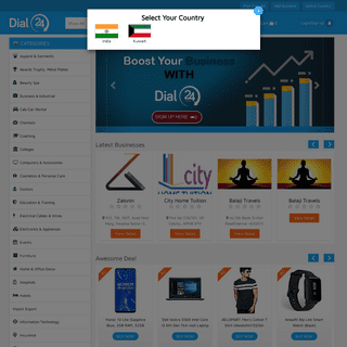 Indian Manufacturers Suppliers Exporters B2B Directory, Online Shopping, Free Classifieds in - Dial24hour