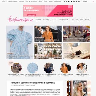 Fashionismo - Moda, beleza e lifestyle