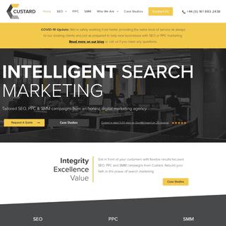 Digital Marketing Agency Manchester - SEO & PPC - Custard