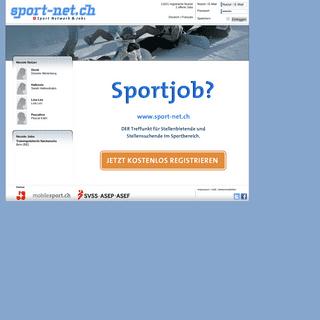 sport-net.ch - Startseite