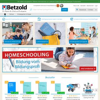 BETZOLD - Alles für Schule & Kindergarten online kaufen