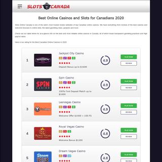 ArchiveBay.com - slots-online-canada.com - Best Online Casinos and Slots for Canadians - Slots Online Canada