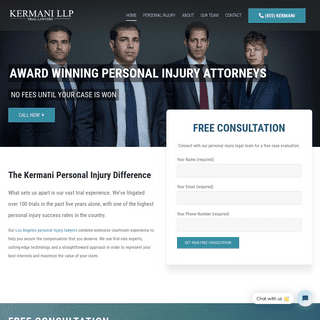 California Personal Injury Attorneys - Kermani LLP