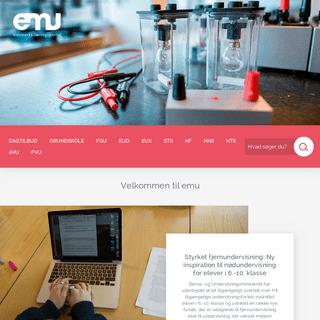 Forsiden - emu danmarks læringsportal