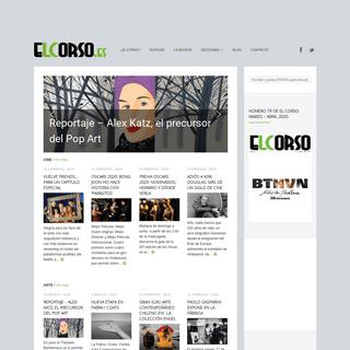 inicio - El Corso - Revista Cultural Online