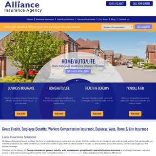 Business & Personal Insurance Quotes with Expert Risk Management - Alliance Insurance Group