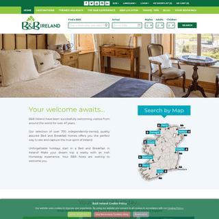 Bed and Breakfast Ireland - B and B - B&B Accommodation Ireland