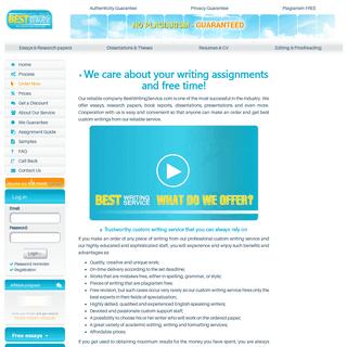 BestWritingService.com - Because We Care