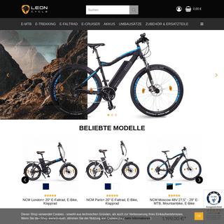 Leon Cycle - E-Bikes & Pedelecs zum besten Preis-Leistungs-Verhältnis