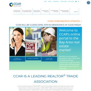 CCAR HOME - CCARToday - Contra Costa Association of REALTORS