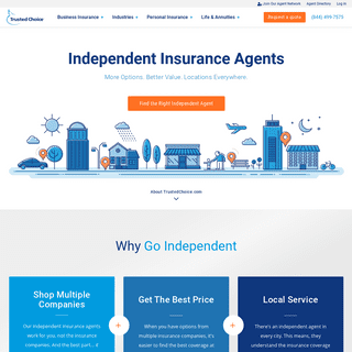 Independent Insurance Agents for Home, Auto & More - Trusted Choice