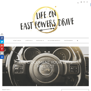 - Life on E Powers Drive - Home Sweet Home- A blog that focuses on life post-tragedy and enjoying all things that make life- lif
