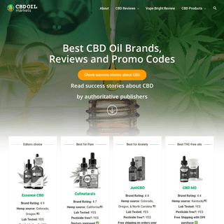 CBD Oil Markets Reviews - Buy The Best CBD Oil Near Me- Full Spectrum CBD Oil On the Our Website
