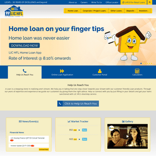 Home Loan - Home Loans Online at Lowest Interest Rate in India - LICHFL
