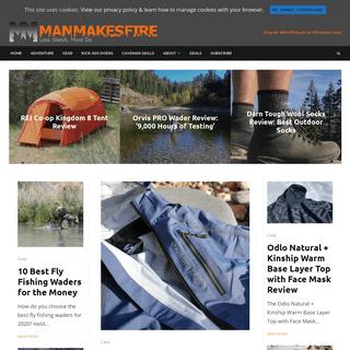 ArchiveBay.com - manmakesfire.com - Home - Man Makes Fire
