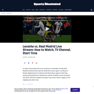 ArchiveBay.com - www.si.com/soccer/2020/02/22/real-madrid-levante-live-stream-how-to-watch-tv-channel-time - Levante vs Real Madrid live stream- How to watch, TV channel, start time - Sports Illustrated