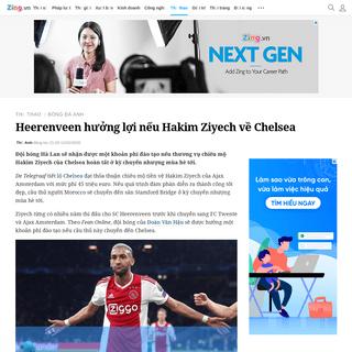 ArchiveBay.com - news.zing.vn/heerenveen-huong-loi-neu-hakim-ziyech-ve-chelsea-post1046425.html - Heerenveen hưởng lợi nếu Hakim Ziyech về Chelsea - Bóng đá Anh - ZING.VN