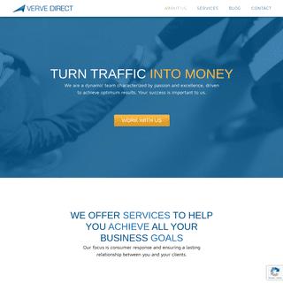 Verve Direct – Turn traffic into money