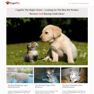 ArchiveBay.com - cogopet.com - CogoPet - Pet Product Reviews And Buying Guide