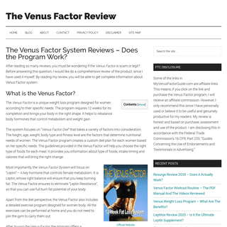 The Venus Factor Review 2020 - Warning !! Don't Buy Unless You Read