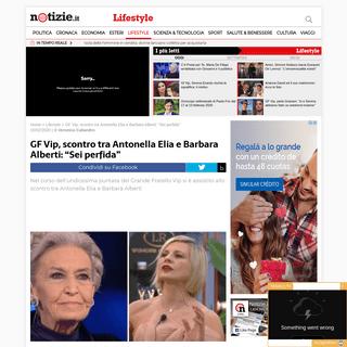 GF Vip, scontro tra Antonella Elia e Barbara Alberti - Notizie.it