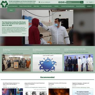 Terrorism-info - The Meir Amit Intelligence and Terrorism Information Center