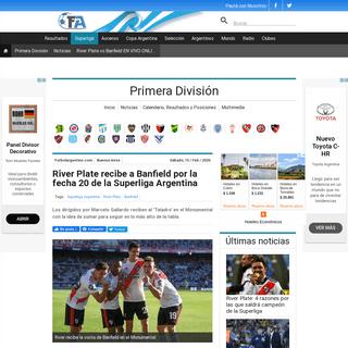 ArchiveBay.com - www.futbolargentino.com/primera-division/noticias/river-plate-vs-banfield-en-vivo-online-por-la-superliga-argentina-260161 - River Plate recibe a Banfield por la fecha 20 de la Superliga Argentina