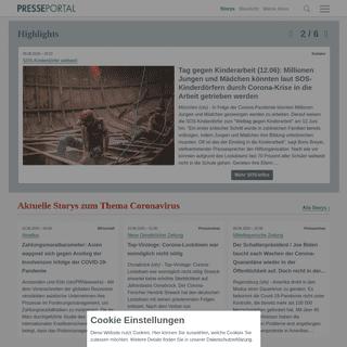 ▷ Die Plattform für Pressemitteilungen und Pressemeldungen - Presseportal