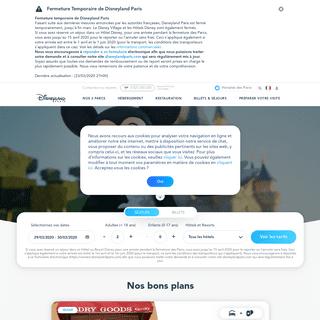 Sejour Disney, Réservation, Billet, Parc d'Attraction - Disneyland Paris
