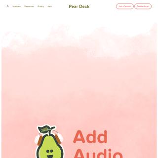 ArchiveBay.com - peardeck.com - Pear Deck