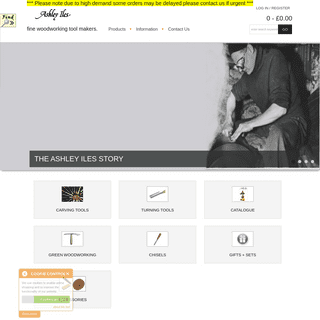 ArchiveBay.com - ashleyilestoolstore.co.uk - Ashley Iles Tool Store