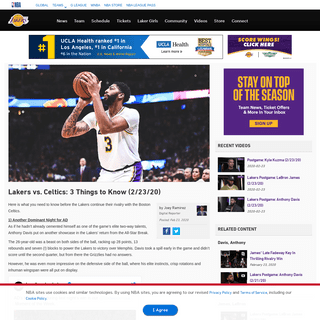 ArchiveBay.com - www.nba.com/lakers/news/200223-laker-celtics-3-things-to-know - Lakers vs. Celtics- 3 Things to Know (2-23-20) - Los Angeles Lakers
