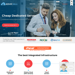 Serverwala- Cheap Dedicated Server - SSD Cloud Server