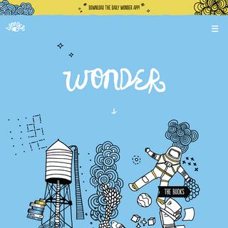 World of Wonder by author R. J. Palacio - Wonder