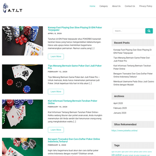 ArchiveBay.com - agriturismolagotrasimeno.org - Portal Info Judi Casino Online Indonesia Terbaik 2020