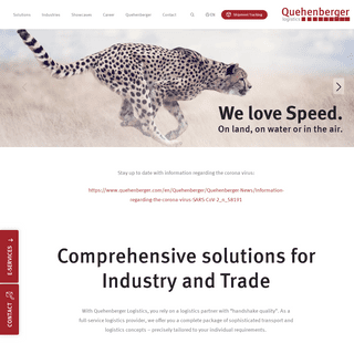 Customised Transport and Logistics Solutions - quehenberger.com