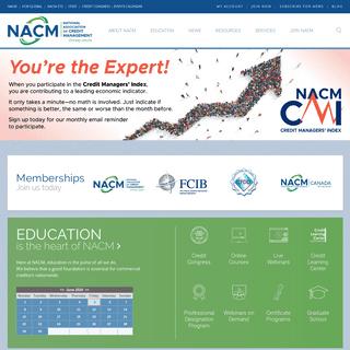 NACM - National Association of Credit Management