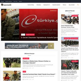 Askernoktasi.com - Uzman - Astsubay - Sözleşmeli Er