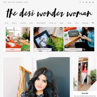 The Desi Wonder Woman - A Lifestyle blog