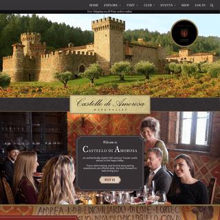 Castello di Amorosa A Napa Valley Castle Winery In Calistoga