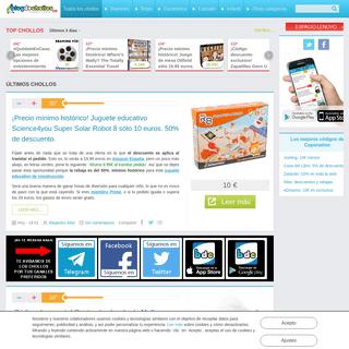 Blogdechollos.com - Ofertas, chollos, rebajas y descuentos en internet