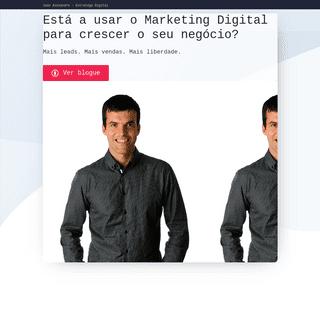 Marketing Digital – João Alexandre – Estratega Digital